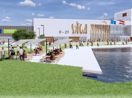 Estmak Capital will built a giant shopping centre in Riga