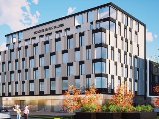 The first Novotel Living hotel in Baltics to open in Estonia!